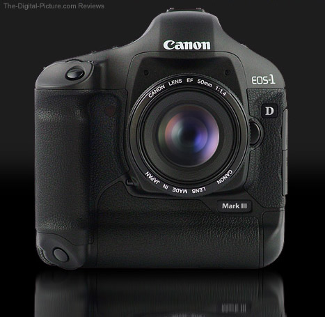 Canon-EOS-1D-Mark-III-Digital-SLR-Camera-on-Black Upgrading to the new 1D Mark III Techie Stuff