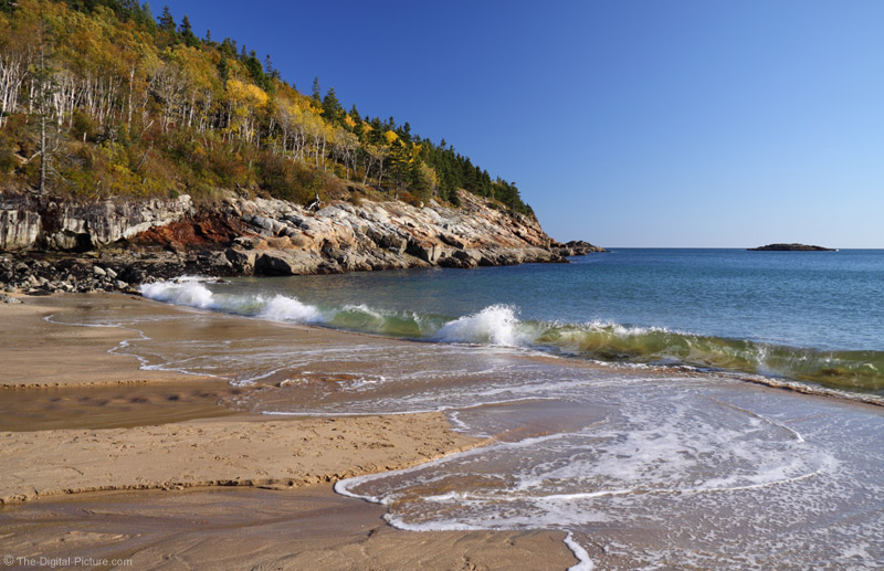 Sand Beach Acadia National Park