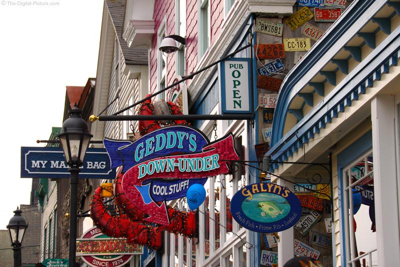 Bar Harbor Shops Maine