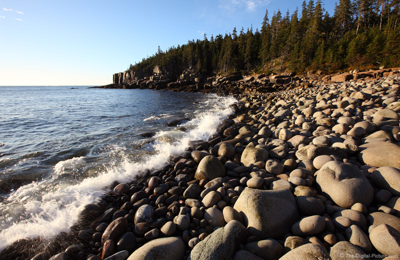 Round Rock Beach Otter Cliff Acadia National Park