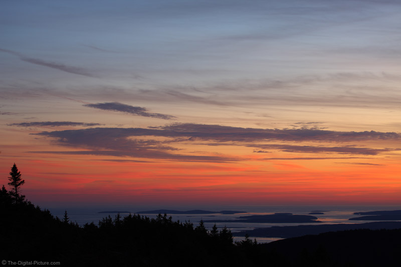 sunset from cadillac mountain acadia national park maine. Cars Review. Best American Auto & Cars Review