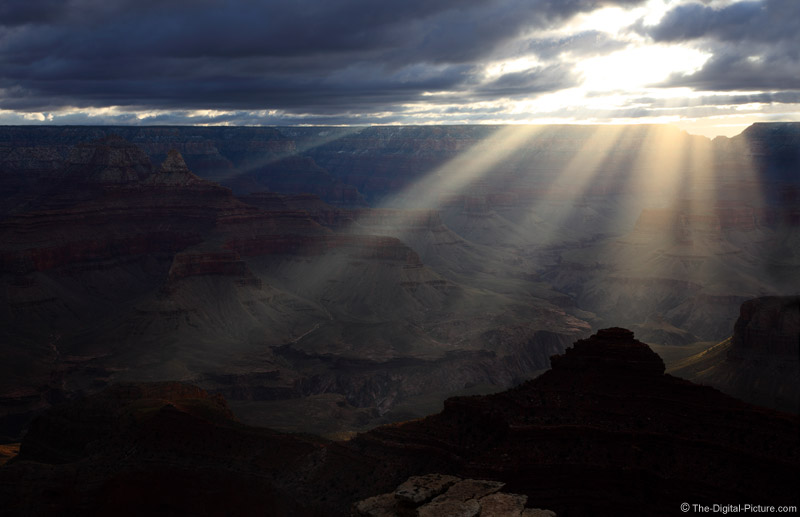 Sunrise At Grand Canyon National Park
