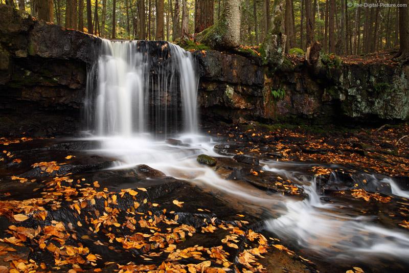 Upper Dutchman Falls, Worlds End State Park