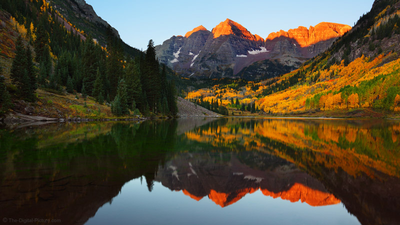 Colorado Gold Maroon Bells Scenic Area
