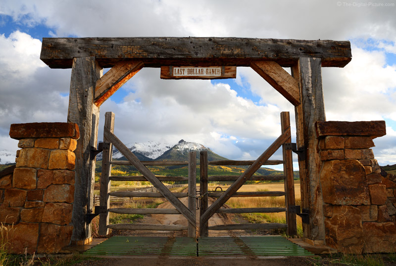 Gate To The Last Dollar Ranch Telluride