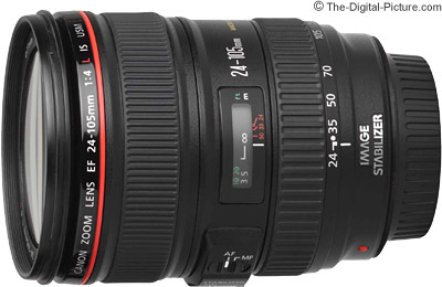 Canon Zoom Lens ef 24-105mm Canon ef 24-105mm F/4l is Usm