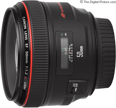 canon ef 50mm f 1 2l usm lens review