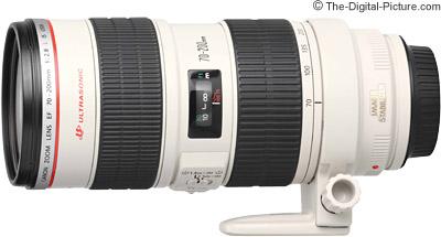 Canon EF 70 200mm F 28L IS USM Lens