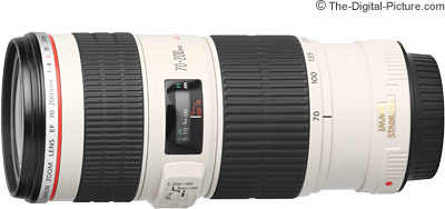 Lens 200mm Canon Canon ef 70-200mm F/4l is Usm