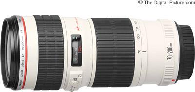 Canon EF 70 200mm F 4L USM Lens