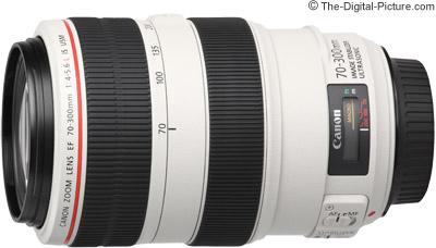 Canon EF 70 300mm F 4 56L IS USM Lens