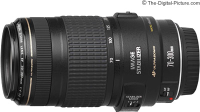Canon Ef 70 300mm F 4 5 6 Is Usm Lens Image Quality