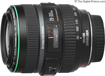 canon ef 70 300mm f/4.5 5.6 do is usm lens review