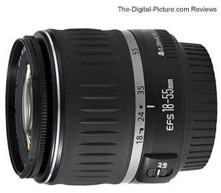 Canon EF S 18 55mm f 3 5 5 6 IS II Autofocus Lens