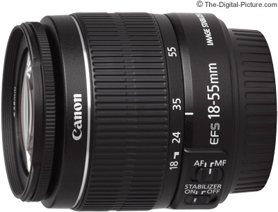 canon ef s 18 55mm f/3.5 5.6 is ii lens review