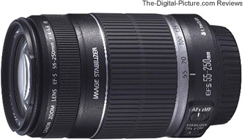 canon ef s 55 250mm f/4 5.6 is lens review
