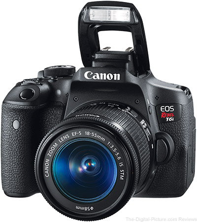 Canon Eos Rebel T6i 750d Canon Announces Rebel T6i And T6s