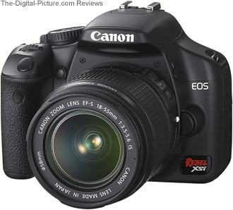 Canon EOS Rebel XSi / 450D Review