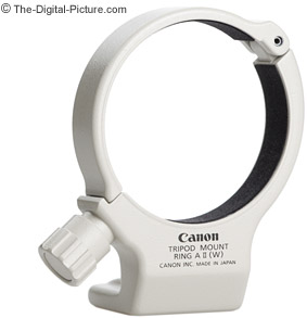 canon tripod mount ring a ii w for 70 200mm f 4l lenses