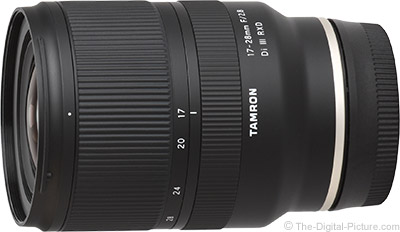 Tamron 17-28mm f/2.8 Di III RXD Lens Review