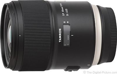 Tamron 35mm f/1.4 Di USD Lens Review