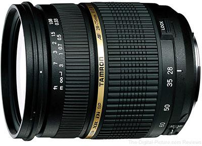 Tamron Af 28 75mm F 2 8 Xr Di Ld Lens Review